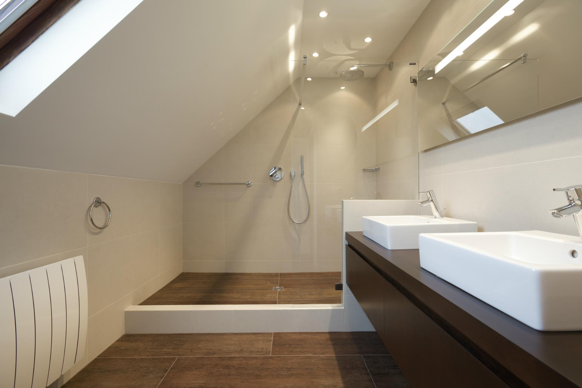 Architecte design et renovation salle de bain r alisations for Salle de bain architecte