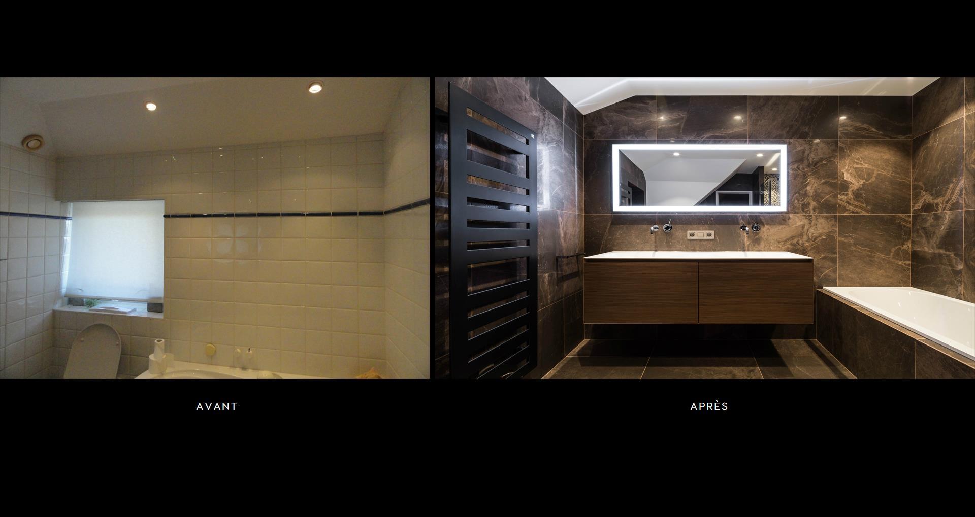 Travaux renovation salle de bain avec douche a l\'italienne ...