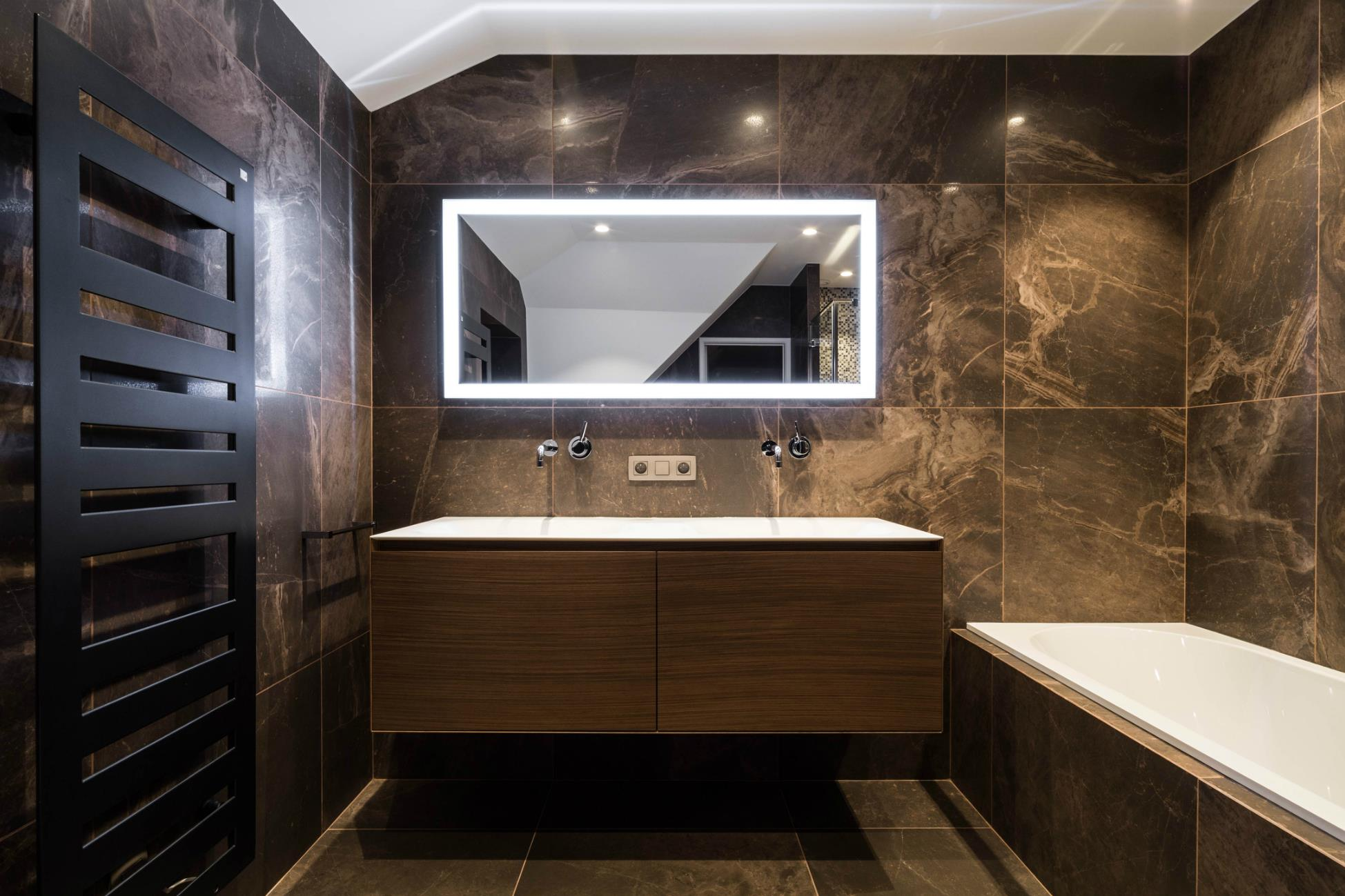Renov management entreprise g n rale de r novation for Salle bain design