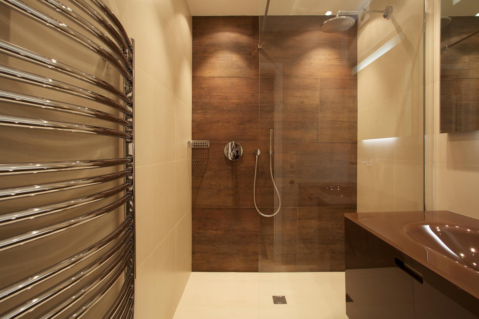 Salle de bain bruxelles avec douche a l\'italienne - réalisations