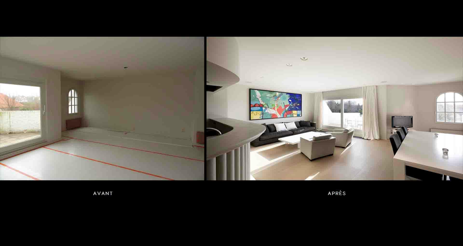 renovation appartement avant apres gallery of avant apres les lilas with renovation appartement. Black Bedroom Furniture Sets. Home Design Ideas