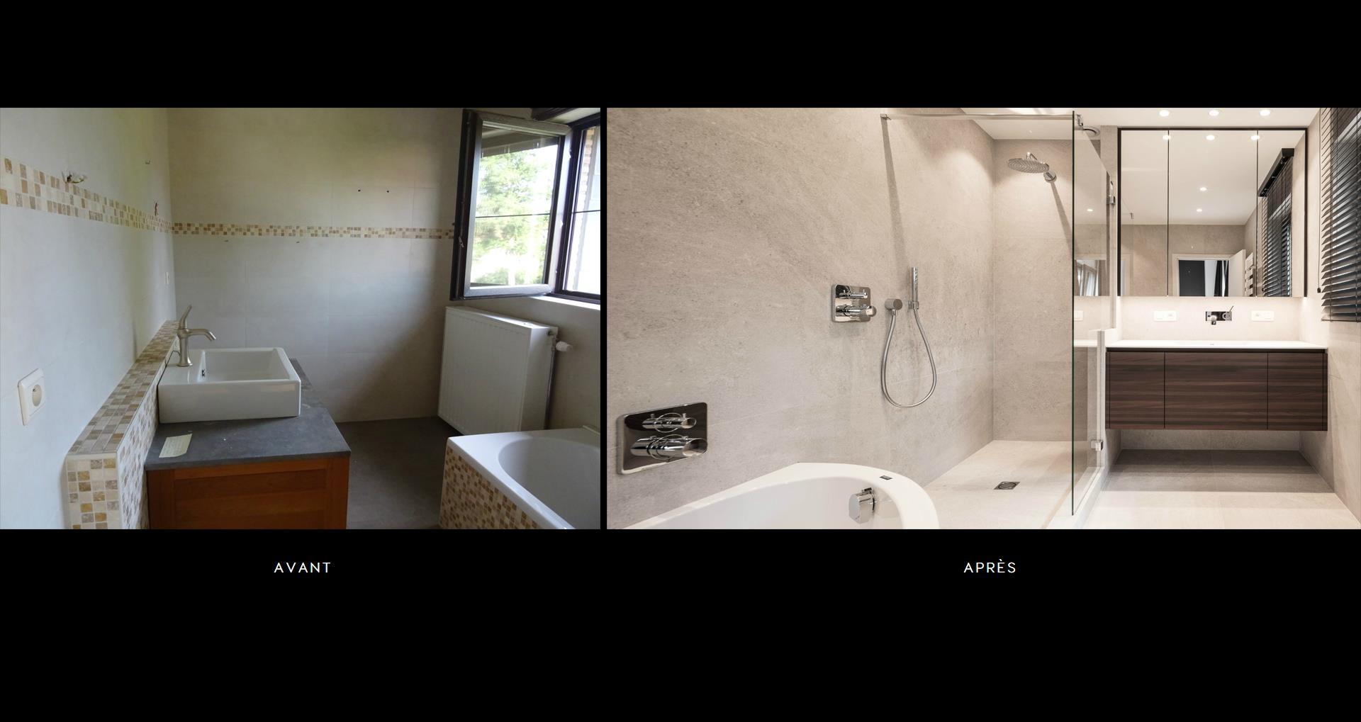 Rénovation salle de bain, rénovation salle de bain petite dimension