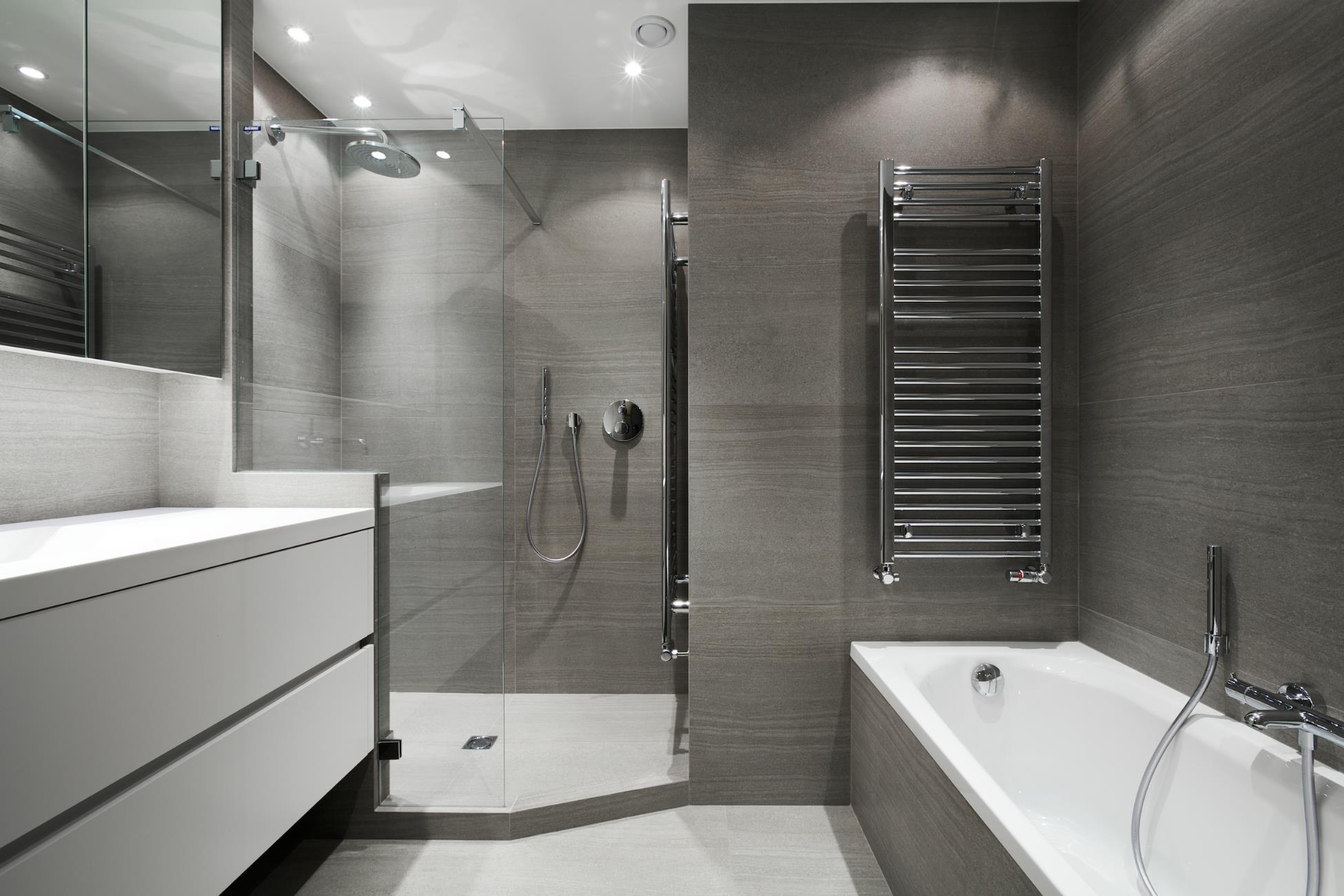 Petite salle de bain douche italienne for Petite salles de bain